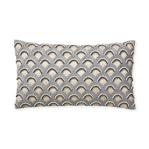 Serena and Lily Beaded Avila Pillow Cover NEW